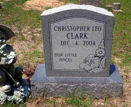 CLARK, CHRISTOPHER LEO - Nevada County, Arkansas | CHRISTOPHER LEO CLARK - Arkansas Gravestone Photos