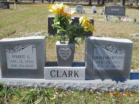 CLARK, EVERETT C - Nevada County, Arkansas | EVERETT C CLARK - Arkansas Gravestone Photos