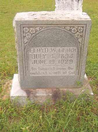 CLARK, FLOYD W - Nevada County, Arkansas | FLOYD W CLARK - Arkansas Gravestone Photos