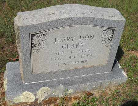 CLARK, JERRY DON - Nevada County, Arkansas | JERRY DON CLARK - Arkansas Gravestone Photos