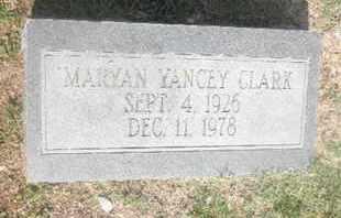 CLARK, MARYAN - Nevada County, Arkansas   MARYAN CLARK - Arkansas Gravestone Photos