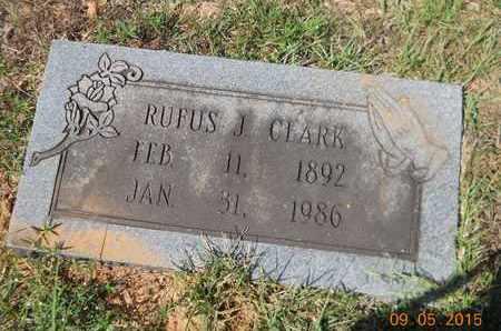 CLARK, RUFUS J - Nevada County, Arkansas | RUFUS J CLARK - Arkansas Gravestone Photos