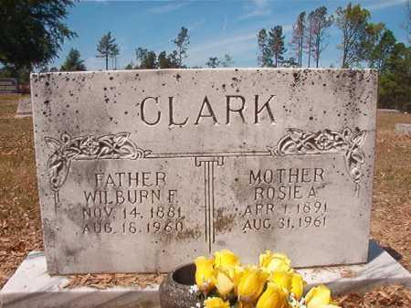 CLARK, WILBURN F - Nevada County, Arkansas | WILBURN F CLARK - Arkansas Gravestone Photos