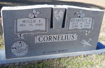 CORNELIUS, CLARENCE D - Nevada County, Arkansas | CLARENCE D CORNELIUS - Arkansas Gravestone Photos
