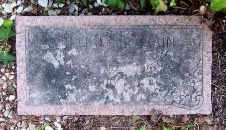 CRAIN, WILLIAM M - Nevada County, Arkansas | WILLIAM M CRAIN - Arkansas Gravestone Photos
