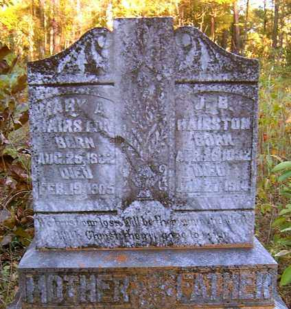 HAIRSTON, MARY A - Nevada County, Arkansas | MARY A HAIRSTON - Arkansas Gravestone Photos