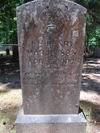 HENRY, J H - Nevada County, Arkansas | J H HENRY - Arkansas Gravestone Photos