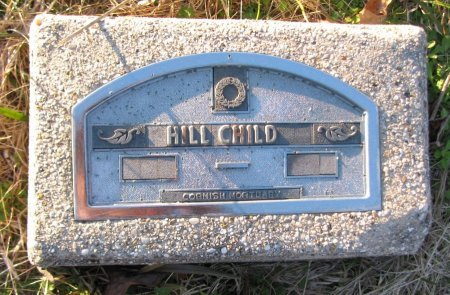 HILL, CHILD - Nevada County, Arkansas | CHILD HILL - Arkansas Gravestone Photos