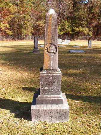 MARTIN, AMANDA - Nevada County, Arkansas | AMANDA MARTIN - Arkansas Gravestone Photos