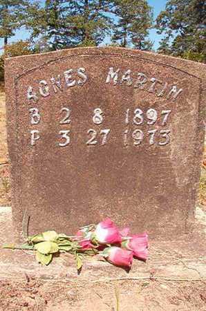 MARTIN, AGNES - Nevada County, Arkansas   AGNES MARTIN - Arkansas Gravestone Photos