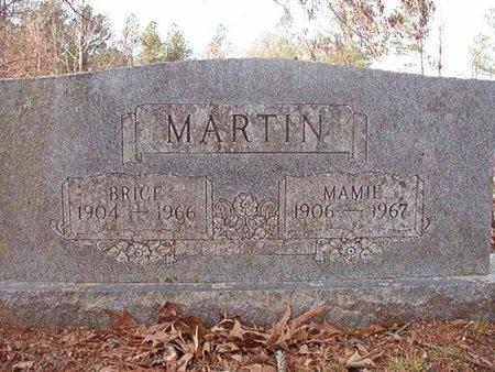 MARTIN, BRICE - Nevada County, Arkansas | BRICE MARTIN - Arkansas Gravestone Photos