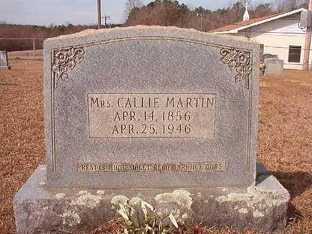 MARTIN, CALLIE - Nevada County, Arkansas | CALLIE MARTIN - Arkansas Gravestone Photos