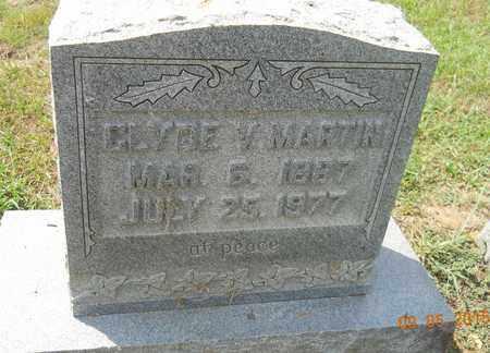 MARTIN, CLYDE V - Nevada County, Arkansas   CLYDE V MARTIN - Arkansas Gravestone Photos