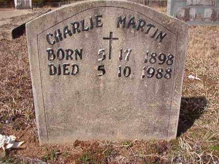MARTIN, CHARLIE - Nevada County, Arkansas | CHARLIE MARTIN - Arkansas Gravestone Photos