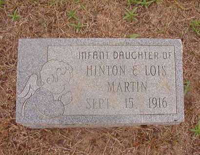 MARTIN, INFANT - Nevada County, Arkansas | INFANT MARTIN - Arkansas Gravestone Photos