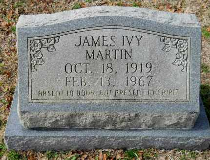 MARTIN, JAMES IVY - Nevada County, Arkansas | JAMES IVY MARTIN - Arkansas Gravestone Photos