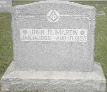 MARTIN, JOHN H - Nevada County, Arkansas   JOHN H MARTIN - Arkansas Gravestone Photos