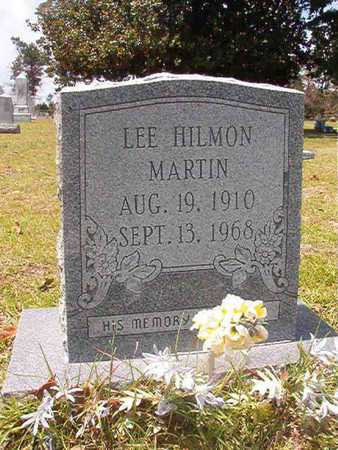 MARTIN, LEE HILMON - Nevada County, Arkansas   LEE HILMON MARTIN - Arkansas Gravestone Photos