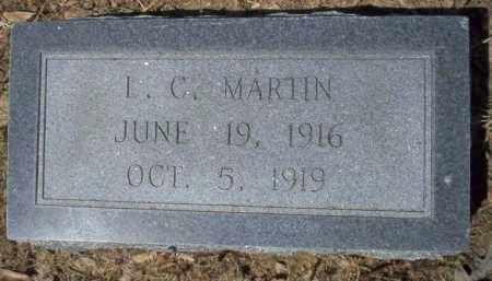 MARTIN, L C - Nevada County, Arkansas | L C MARTIN - Arkansas Gravestone Photos