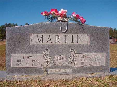 MARTIN, BLANCHE - Nevada County, Arkansas | BLANCHE MARTIN - Arkansas Gravestone Photos