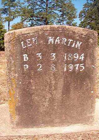 MARTIN, LEM - Nevada County, Arkansas   LEM MARTIN - Arkansas Gravestone Photos