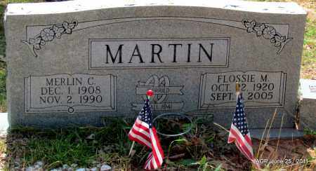 MARTIN, MERLIN C - Nevada County, Arkansas | MERLIN C MARTIN - Arkansas Gravestone Photos