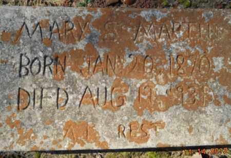 MARTIN, MARY S - Nevada County, Arkansas | MARY S MARTIN - Arkansas Gravestone Photos