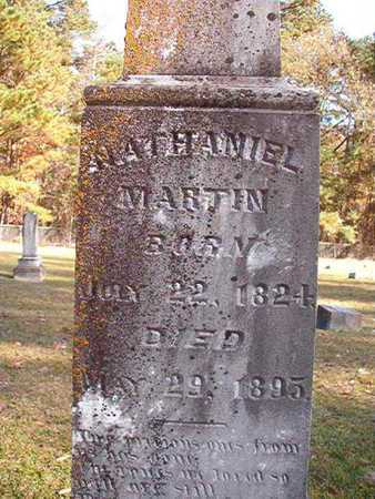 MARTIN, NATHANIEL (CLOSEUP) - Nevada County, Arkansas | NATHANIEL (CLOSEUP) MARTIN - Arkansas Gravestone Photos