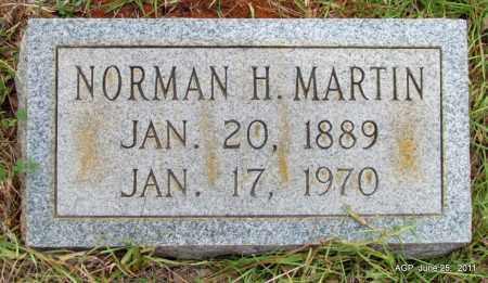 MARTIN, NORMAN H - Nevada County, Arkansas | NORMAN H MARTIN - Arkansas Gravestone Photos