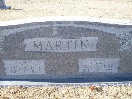 MARTIN, SIDNEY - Nevada County, Arkansas | SIDNEY MARTIN - Arkansas Gravestone Photos