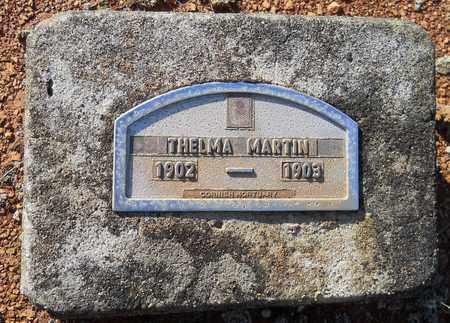 MARTIN, THELMA - Nevada County, Arkansas | THELMA MARTIN - Arkansas Gravestone Photos