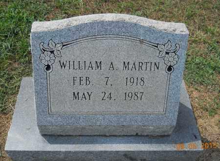 MARTIN, WILLIAM A - Nevada County, Arkansas   WILLIAM A MARTIN - Arkansas Gravestone Photos