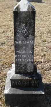 MARTIN, WILLIAM J - Nevada County, Arkansas | WILLIAM J MARTIN - Arkansas Gravestone Photos