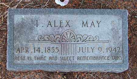 MAY, I ALEX - Nevada County, Arkansas   I ALEX MAY - Arkansas Gravestone Photos