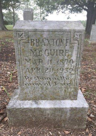 MCGUIRE, BRAXTON F. - Nevada County, Arkansas | BRAXTON F. MCGUIRE - Arkansas Gravestone Photos