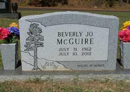 MCGUIRE, BEVERLY JO - Nevada County, Arkansas   BEVERLY JO MCGUIRE - Arkansas Gravestone Photos