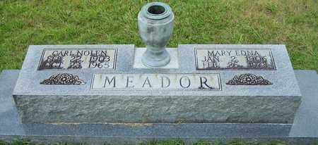 MEADOR, MARY EDNA - Nevada County, Arkansas | MARY EDNA MEADOR - Arkansas Gravestone Photos