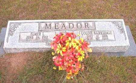 MEADOR, ELMER L - Nevada County, Arkansas | ELMER L MEADOR - Arkansas Gravestone Photos