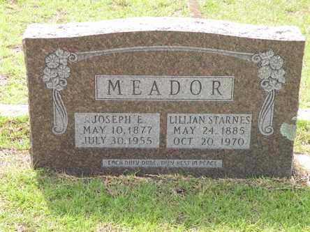 MEADOR, LILLIAN - Nevada County, Arkansas | LILLIAN MEADOR - Arkansas Gravestone Photos