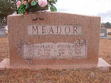 MEADOR, JOHNNIE MAY - Nevada County, Arkansas | JOHNNIE MAY MEADOR - Arkansas Gravestone Photos
