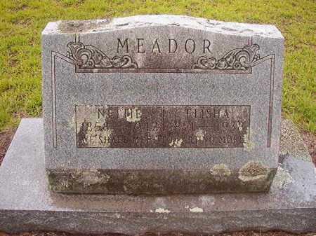 MEADOR, NETTIE - Nevada County, Arkansas | NETTIE MEADOR - Arkansas Gravestone Photos