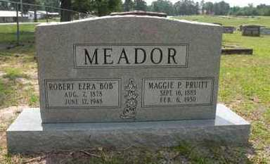 MEADOR, MAGGIE P. - Nevada County, Arkansas | MAGGIE P. MEADOR - Arkansas Gravestone Photos