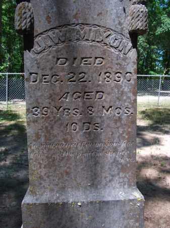 MIXON, J W - Nevada County, Arkansas | J W MIXON - Arkansas Gravestone Photos