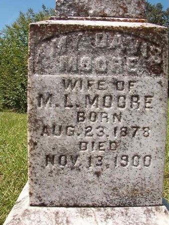 MOORE, AMY - Nevada County, Arkansas | AMY MOORE - Arkansas Gravestone Photos