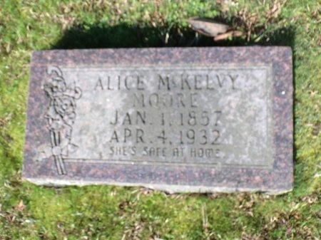MOORE, ALICE - Nevada County, Arkansas   ALICE MOORE - Arkansas Gravestone Photos