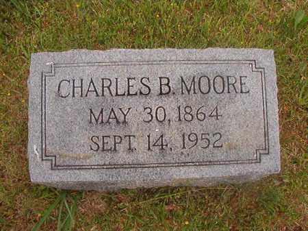 MOORE, CHARLES B - Nevada County, Arkansas | CHARLES B MOORE - Arkansas Gravestone Photos