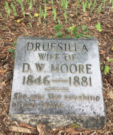 MOORE, DRUSILLA - Nevada County, Arkansas   DRUSILLA MOORE - Arkansas Gravestone Photos