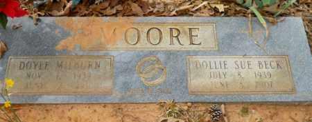 MOORE, DOLLIE SUE - Nevada County, Arkansas   DOLLIE SUE MOORE - Arkansas Gravestone Photos