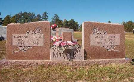 MOORE, MYRTLE - Nevada County, Arkansas | MYRTLE MOORE - Arkansas Gravestone Photos
