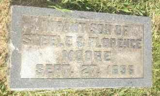MOORE, INFANT - Nevada County, Arkansas   INFANT MOORE - Arkansas Gravestone Photos